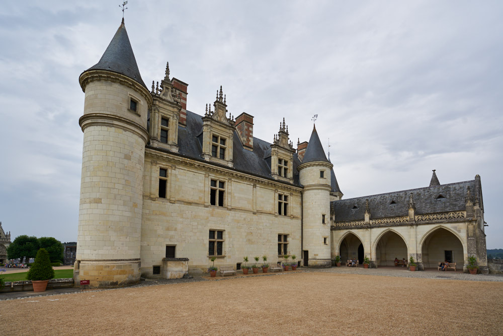 Amboise France Map.Chateau Royal D Amboise Loire Valley Chateau Guide And Map